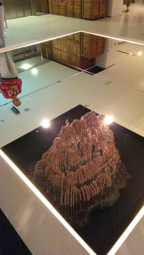 Costa Dorada: maquette van Gaudi