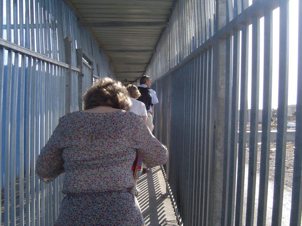 via de muur naar Jeruzalem