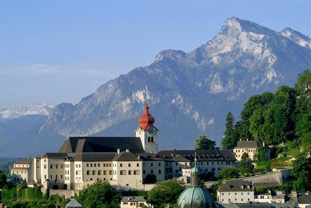 Stift Nonnberg in Salzburg