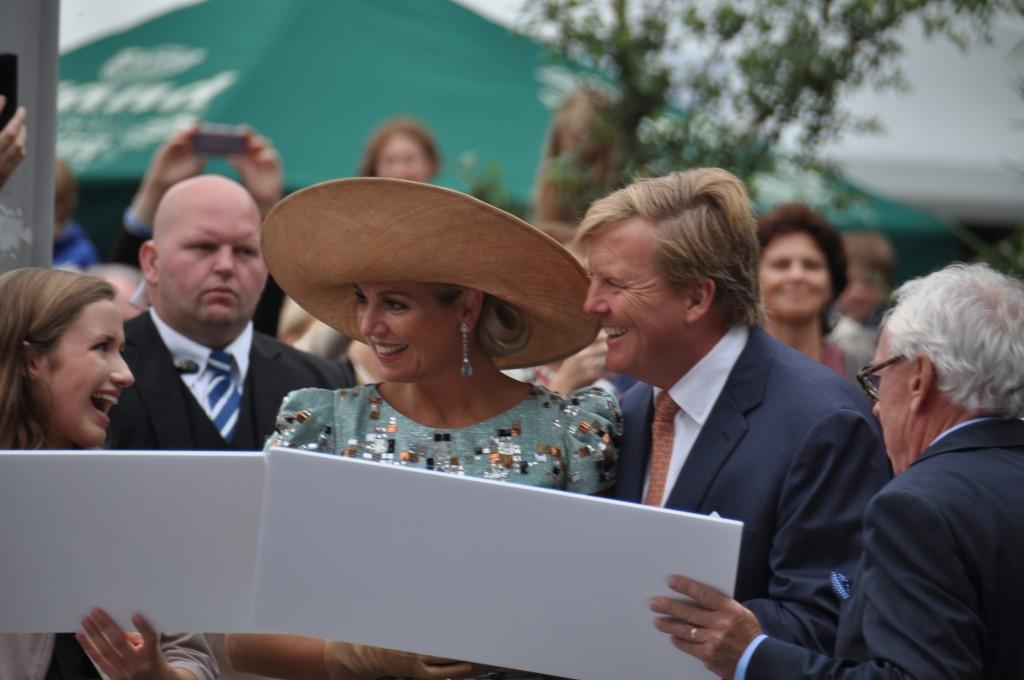 Het Nederlands koningspaar tijdens preuvenemint 2014, foto: Marianne Visser van KlaarwaterHet Nederlands koningspaar tijdens preuvenemint 2014, foto: Marianne Visser van Klaarwater