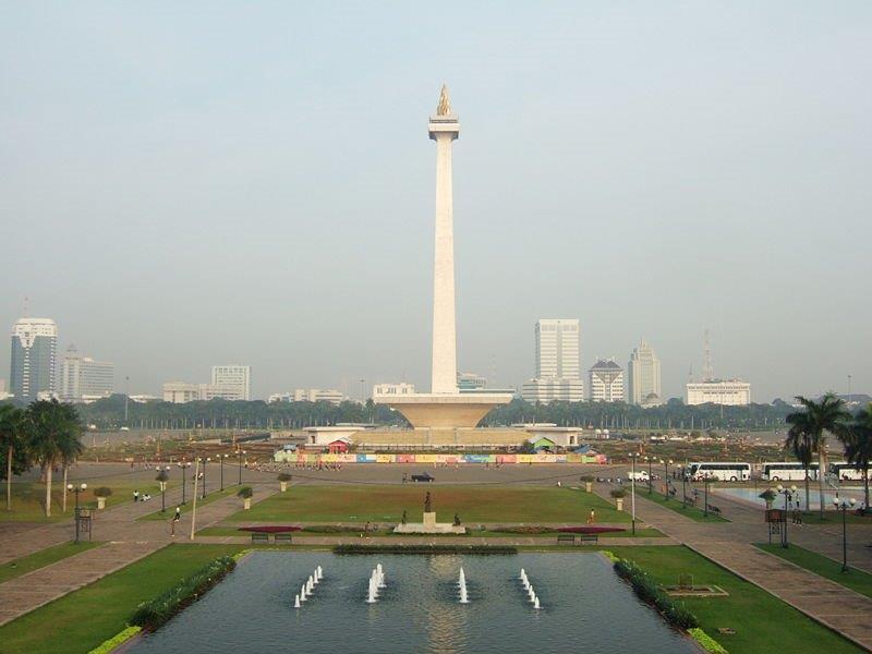 Jakarta Vrijheidsmonument, foto Kersten Freriks