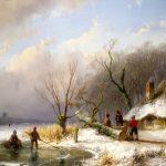 Winterlandschappen in het Teylers Museum Haarlem