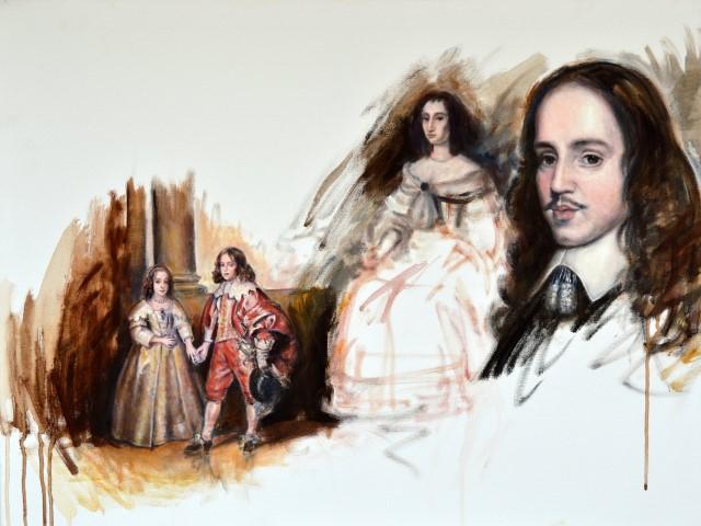 Willem II en Mary © Gustave Nouel
