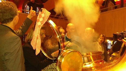 Michel Ordeman voegt hop voor tulpomania toe