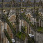 Fantasiefiguren Jeroen Bosch op dak st Jan Den Bosch