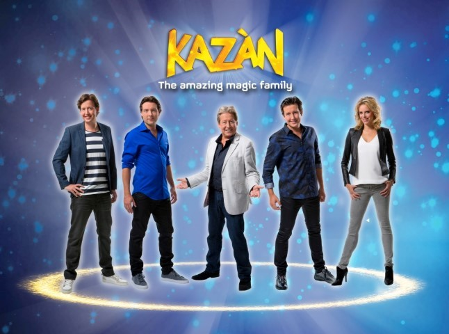 Hans Kazan & the Amazing Magic Family