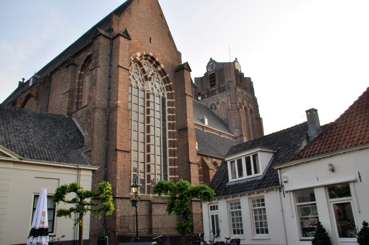 Wijk bij Durstede, de Grote Kerk met toren