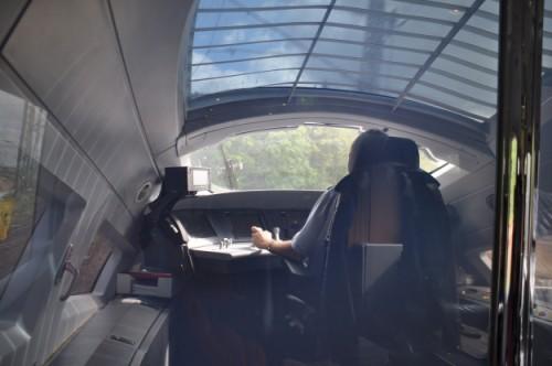 Met de ICE in 4 uur vanuit Amsterdam naar Frankfurt, kijkje in de cockpit.