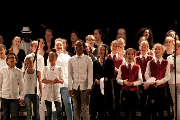 Jubileumconcert Koorschool sint Bavo op 19 juni 2016