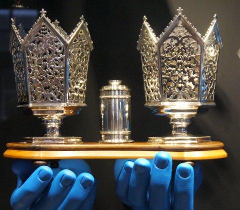Zilvermuseum in zilverstad Schoonhoven ook dat is de Krimpenerwaard