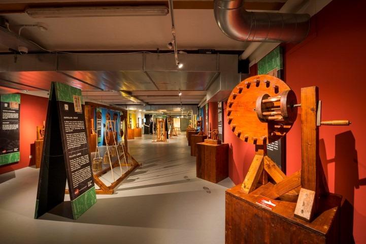 Expositie Leonardo da Vinci,. Beurs van Berlage, te zien tot 20 juni 2017