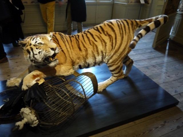Tier, Oud Amelisweerd, 25 maart tot en met 10 september 2017, Siberische tijger ger