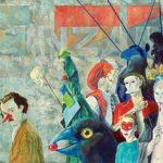 Levenskunstenaar Robert Webster en Carnavale dell' Arte