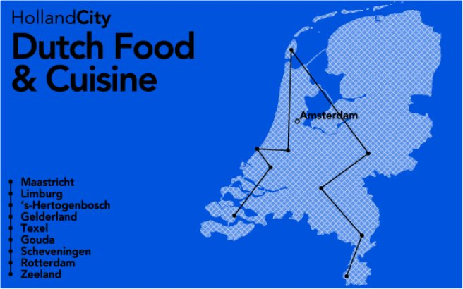Dutch Food and Cuisine, verhaallijn