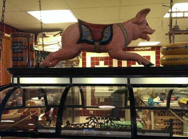 Tenslotte smulden we van een lekker buffet uit de open keuken van de Rijper Eilanden.