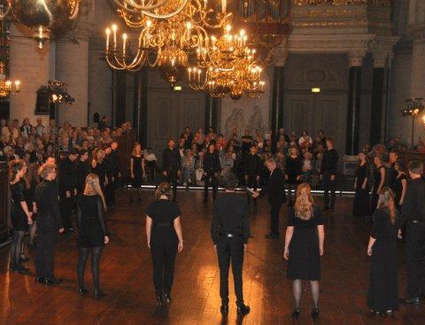 Internationaal Koorfestival Haarlem werd geopend door het Nationaal Gemengd Jeugdkoor