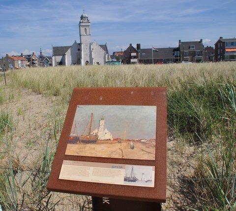 Katwijk, st Andreaskerk toen en nu