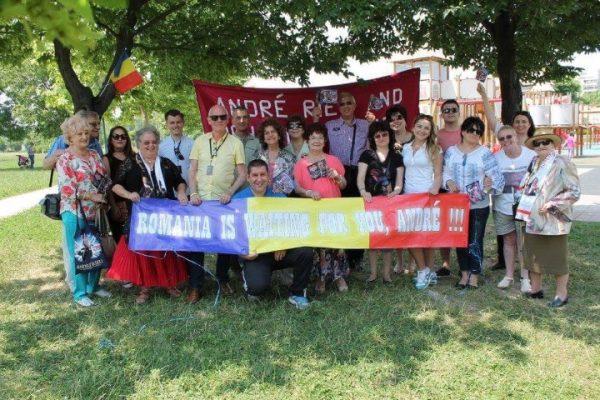 Jubileumconcert André Rieu; Roemenen hopen op een snel weerzien