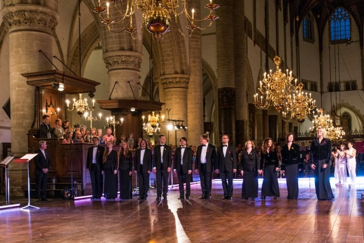Internationaal Koorfestival Haarlem. Latvian Chamber Singers. Foto: Melle Meivogel