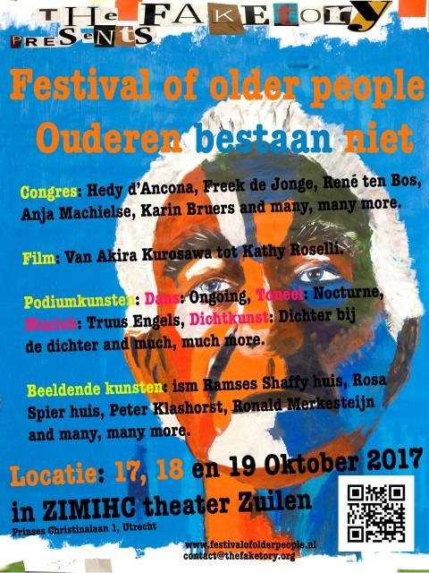 Festival of Older People rekent af met het maatschappe;ijk verschil tussen oud en jong zijn