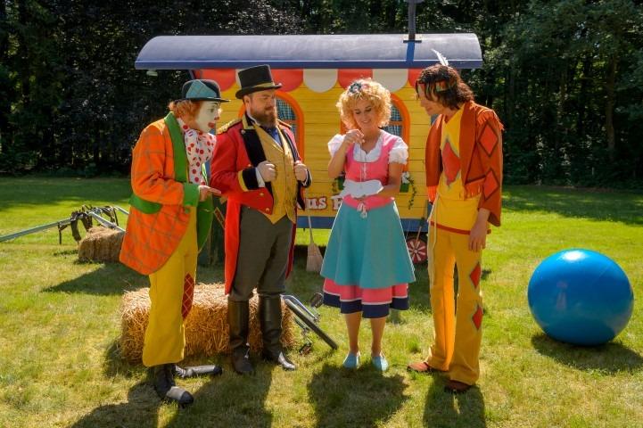 Pipo de Clown, in Putten. foto: Wim Lanser