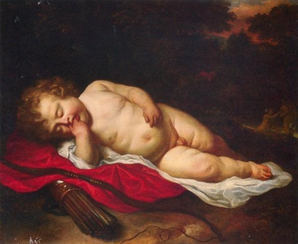 AM Flinck Slapende Cupido privecollectie
