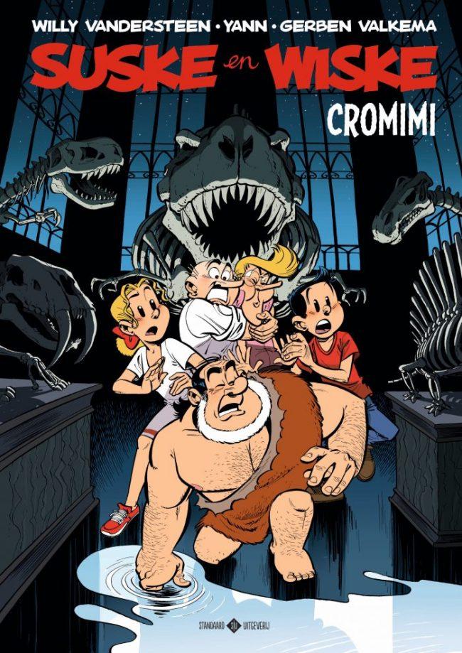 Cromimi een Suske en Wiske van Haarlemse striptekenaar Gerben Valkema