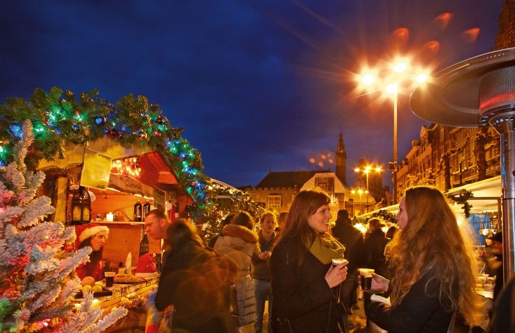 Kerstmarkt Haarlem, foto Hans Guldemond