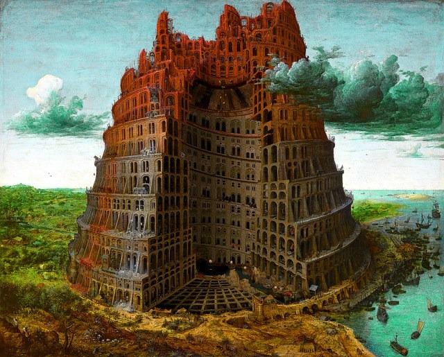Toren van Babel, Katsuhiro Otomo en Kosuke Kawamira, Inside Babel, 2016-2017, Museum Boijmans van Beuningen, Rotterdam