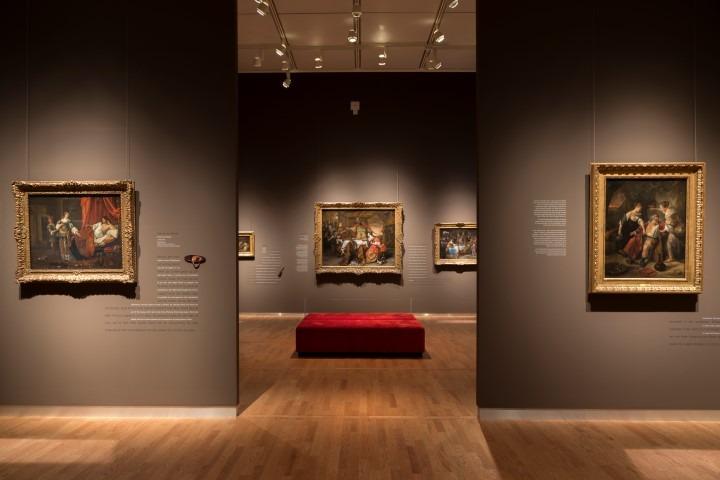 Jan Steen vertelt, werken van historieschilder Jan Steen, tot en met 21 mei 2018 te zien in het Mauritshuis, Den Haag