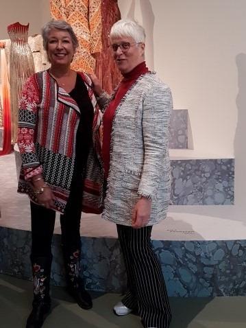 Koningin Máxima's favoriete couturier voor 30 april 2013 was Jan Taminiau. Samen met mijn schoolvriendin Jacinthe Hoekx bezocht ik de expositie Reflections in het Centraal Museum