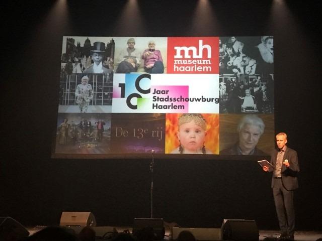 Jaap Lampe, directeur Stadsschouwburg & Philharmonie Haarlem, seizoenspresentatie 14 mei 2018