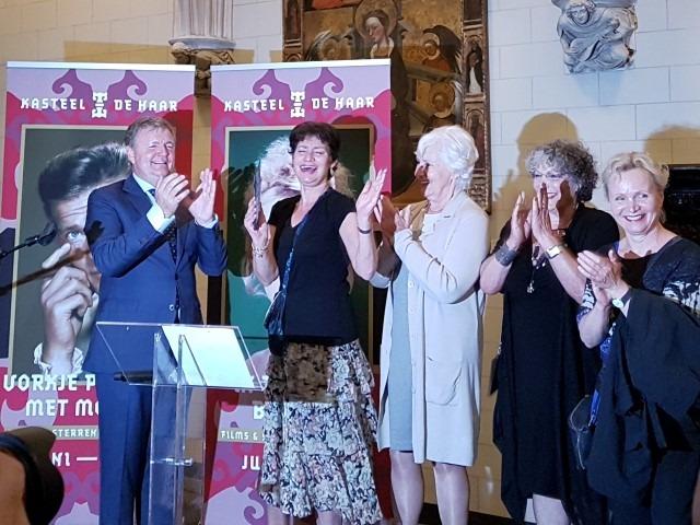 Barones Alexandra van Zuylen van Nijeveldt van de Haar , Anne-Wil Blankers, Willeke van Ammelrooij, Renee Soutendijk en René Miloch