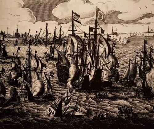 100 jaar Zuiderzeewet, Museum Nieuw Land, slag op de Zuiderzee 1573