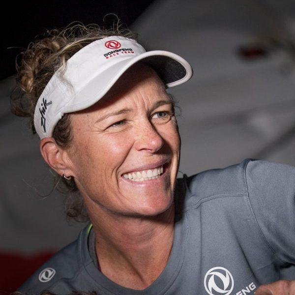 Carolien Brouwers, winnares Volvo Ocean Race, was ook aanwezig tijdens de première van BBC Oceans