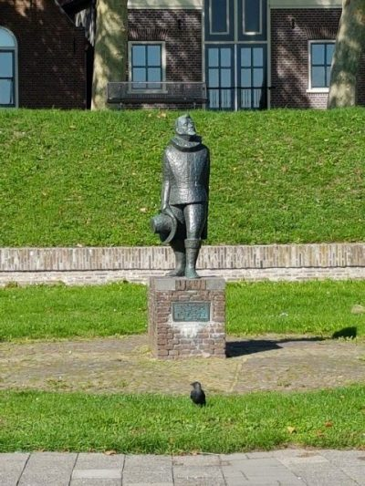 Zilverstad Schoonhoven, beeld van Olivier van Noort, foto: Gerard Milort, adviseur waterrecreatie
