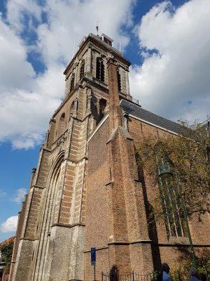 Zilverstad Schoonhoven, toren van de Bartholomeuskerk, foto: Gerard Milort
