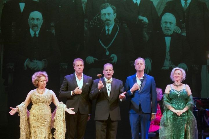 HAARLEM - Generale repetitie voorstelling 100 jaar Stadsschouwburg. United Photos/Paul Vreeker