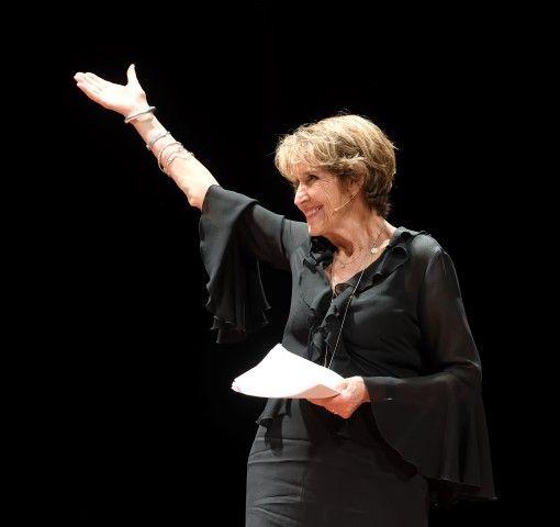 Indonesië, Koninklijke Schouwburg, 8 oktober, première plaats van de Indië Monologen,Yvonne Keuls, (c) Hans Kleijn