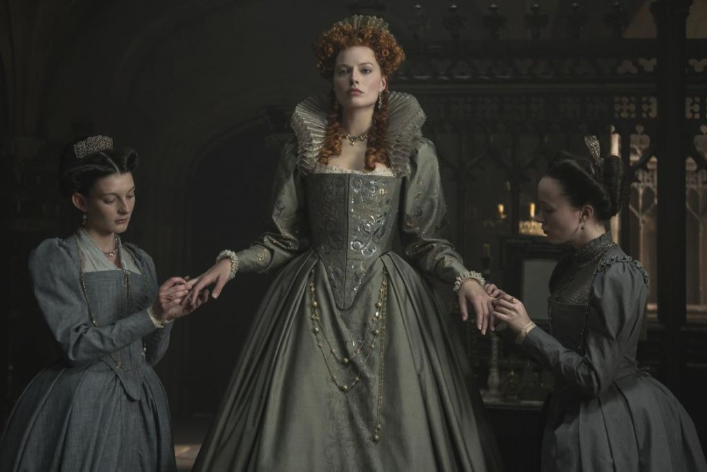 Elisabeth (Margot Robbie), de rivale van Mary Stuart