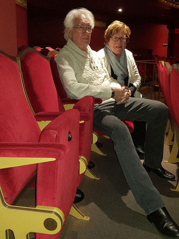 De 13e rij, Geophrey Couchaine (Haarlemse Theatermakers) en Marijke Kots (regisseur)