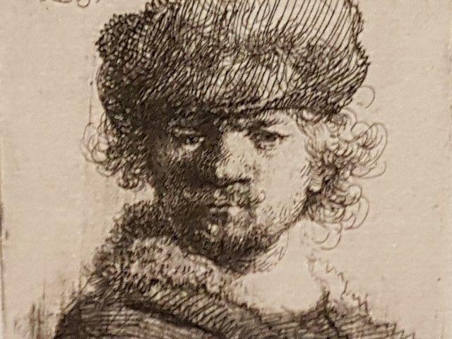 Expositie Alle Rembrandts, zelfportret 1630
