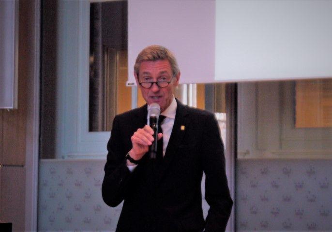 RCO, algemeen directeur Jan Raes, tijdens seizoenspresentatie op 25 februari in het RCO-gebouw