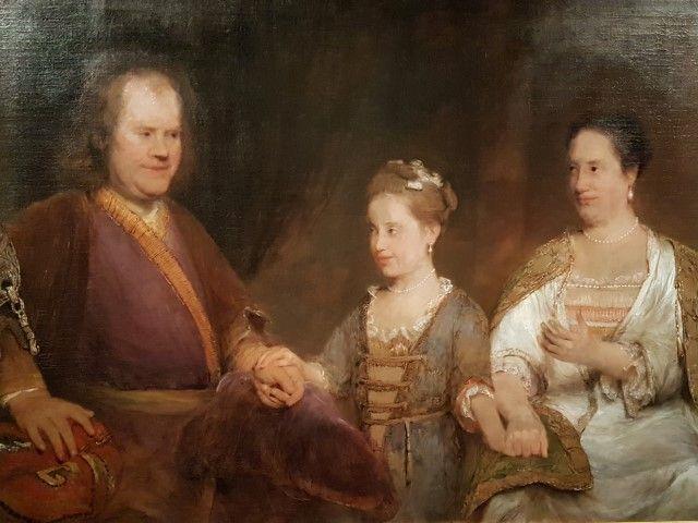 Herman Boerhaave, als goed huisvader met zijn gezin, een werk van Aert de Gelders in Museum Boerhaave Leiden